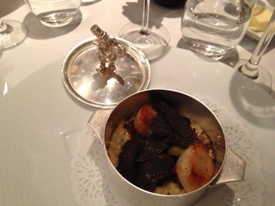 Restaurant Le Pergolese : risotto aux St. Jacques et Truffes