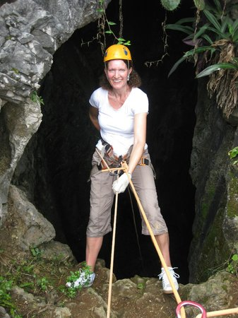 Phat Tire Ventures: Abseiling Marble Mountain