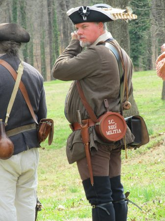 Guilford Courthouse National Military Park: South Carolina militia man