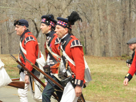 Guilford Courthouse National Military Park: Highland Troops
