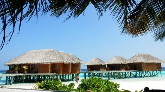 Vakarufalhi Island Resort: Blick zum Spa