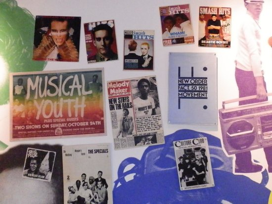 British Music Experience: Wall of fame