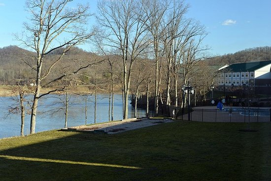 Stonewall Resort: The view from our room...
