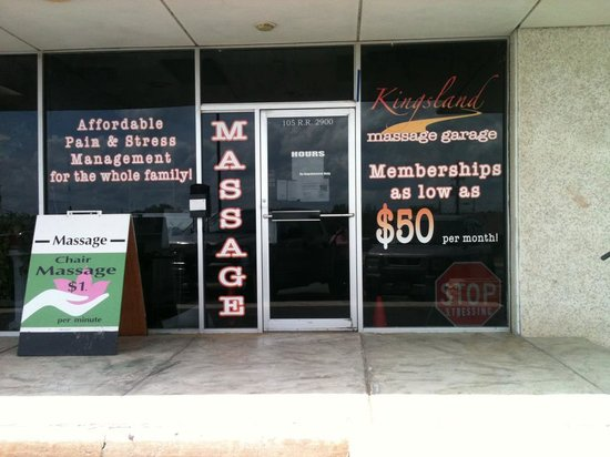 Kingsland Massage Garage