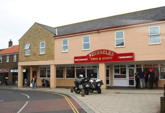 Pinnacles Restaurant: Pinnacles in Seahouses - the Hairy Bikers favourite fish and chips