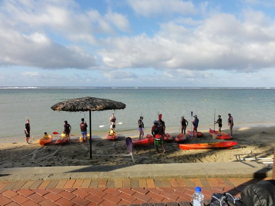 Outrigger Fiji Beach Resort:                   Guided Kayaking 7am