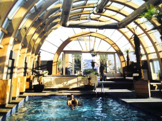 The Ritz-Carlton, Santiago: Piscina do Ritz Carlton na cobertura