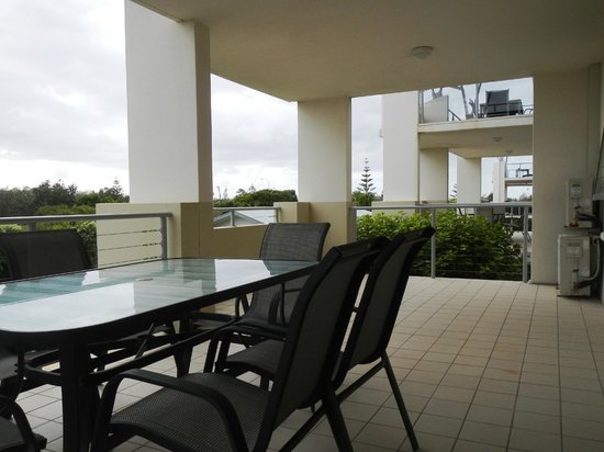 Pacific Marina Apartments: balcony view