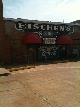 Eischen's Bar: The back side