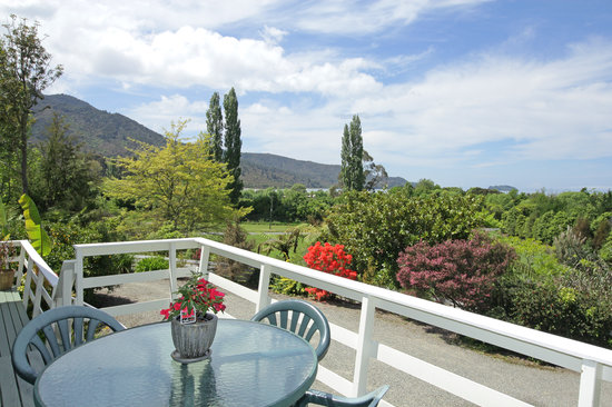 Abel Tasman Stables: View from deck