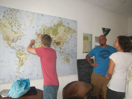 Hostel Sheck: Our Visitors come from All Over the World
