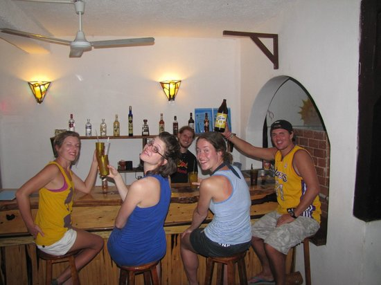 Hostel Sheck: Always a Good Time for a Drink