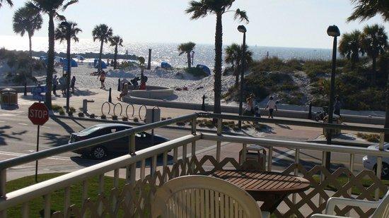 Beachwalk Inn: Room 20 balcaony