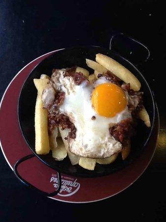 Cafe Viena: Huevos rotos