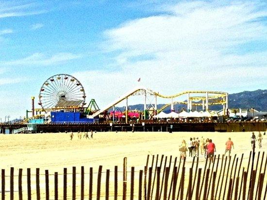 Santa Monica Pier: The carousel