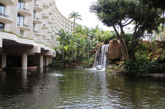 The Westin Maui Resort & Spa, Ka'anapali: waterfall