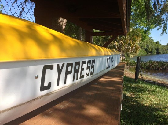 Cypress Cove Nudist Resort: Kayak