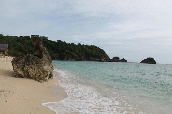 Zoe Mei Resort:                   private beach