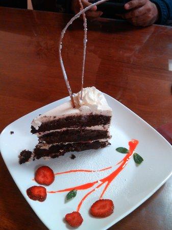 EatPeruvian Restaurant: yummy dessert.