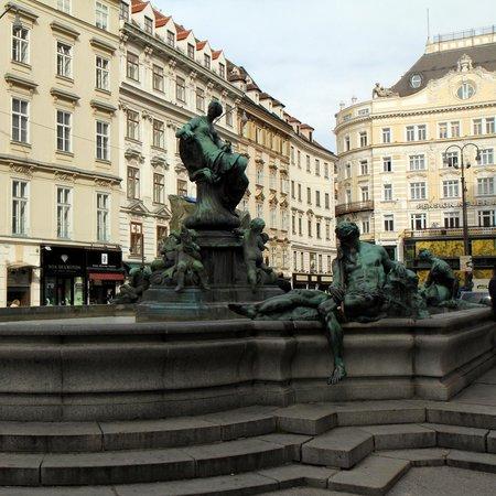 Donner Fountain at Neuer Markt