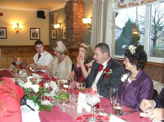 Hazeldene Hotel: Our reception was perfect thanks to the staff