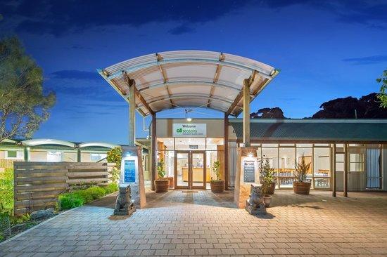 Mercure Kangaroo Island Lodge : Entry