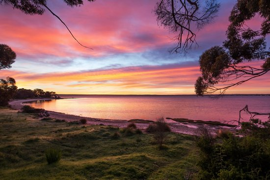 Mercure Kangaroo Island Lodge: Many a stunning sunrise!