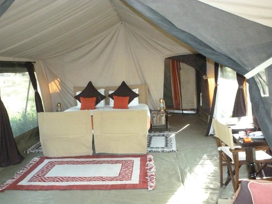 Olakira Camp, Asilia Africa:                   mobile tented camp