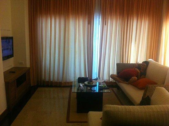 Phunawa Resort: cosy and comfy living room
