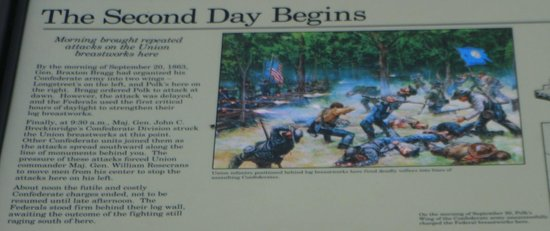 Chickamauga Battlefield: Kiosk