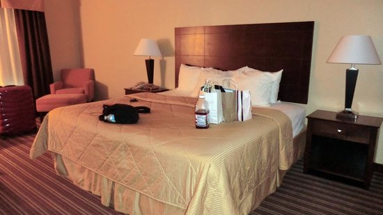 Comfort Inn : bed