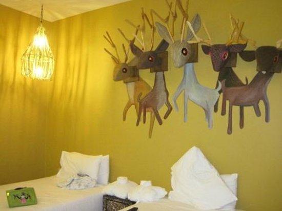 Pimnara Boutique Hotel: 壁面の装飾