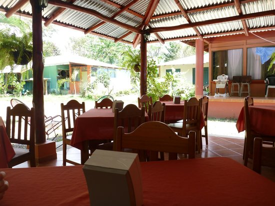 Soda Ranchito Dona Maria:                                     The seating area.