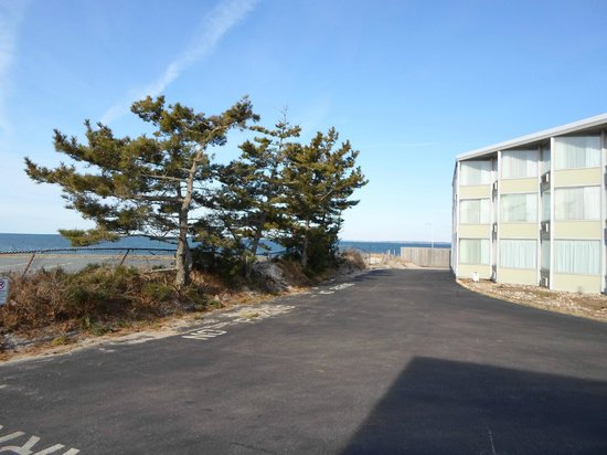 Sea Crest Beach Hotel: Trail to the Beach