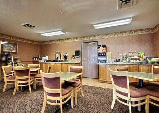 Quality Inn Mineral Point: breakfast area
