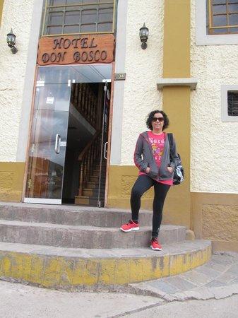Don Bosco Hotel: Entrada