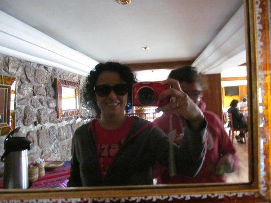Don Bosco Hotel: El salon comedor