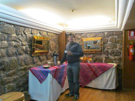 Don Bosco Hotel: El rincon del mate de coca las 24 hs