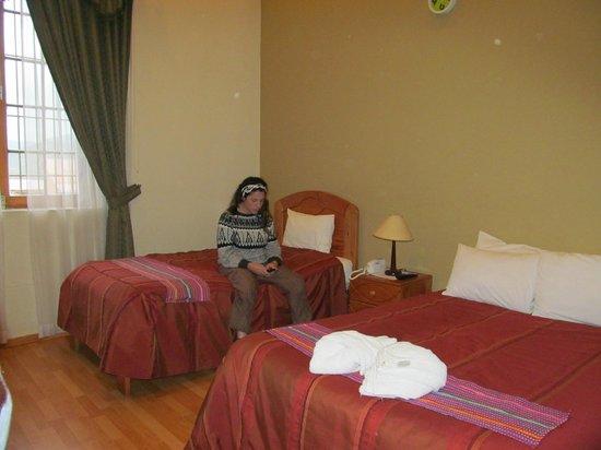 Don Bosco Hotel : amplias habitaciones