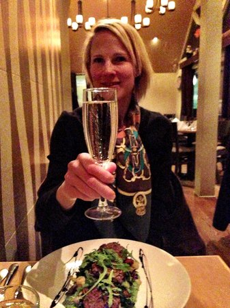 Pyramid Bistro : Healthy but not crazy