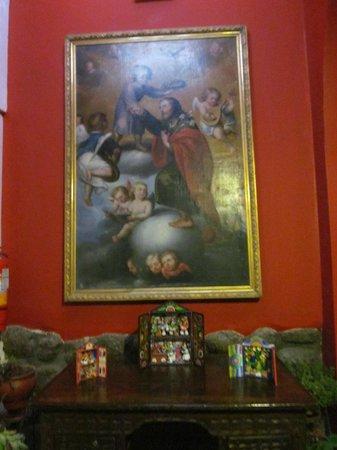 Don Bosco Hotel : En el pasillo de las habitaciones