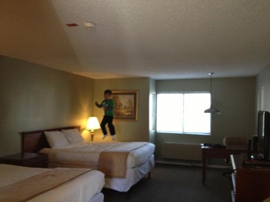 Travelodge Big Bear Lake CA: My 5 year old gives the room two thumbs up