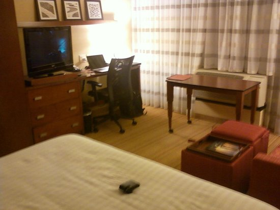 Courtyard Fort Meade BWI Business District: My room