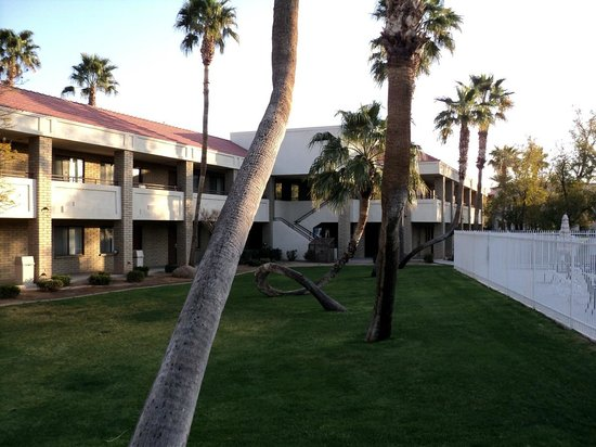 Thunderbird Executive Inn & Conference Center : Great landscaping