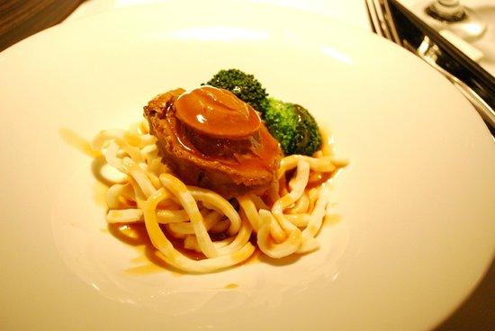 Hakkasan Bistro: Braised Abalone Noodles