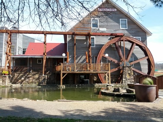 Inn at the Mill: old mill