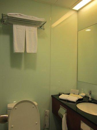 B P International: bathroom