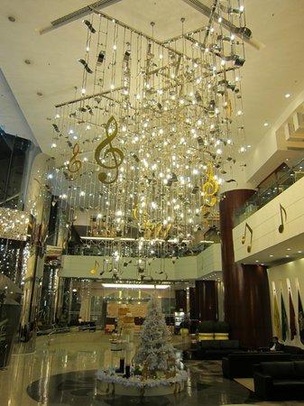 B P International: hotel lobby