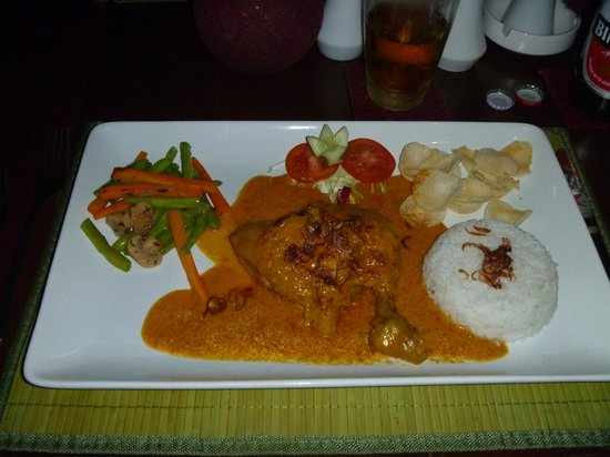 Samanvaya: Chicken in Balinese Spices