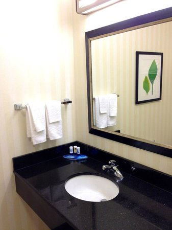 Fairfield Inn & Suites by Marriott Cookeville: Sink
